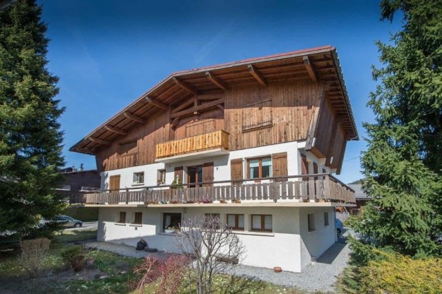 Chalet du Ski Club à Mégève